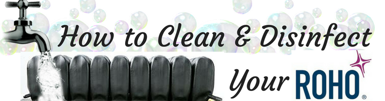 How to Clean and Disinfect Your ROHO Air Cushion Banner