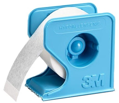 3M Micropore - Paper Medical Tape With Dispenser (Hypoallergenic)
