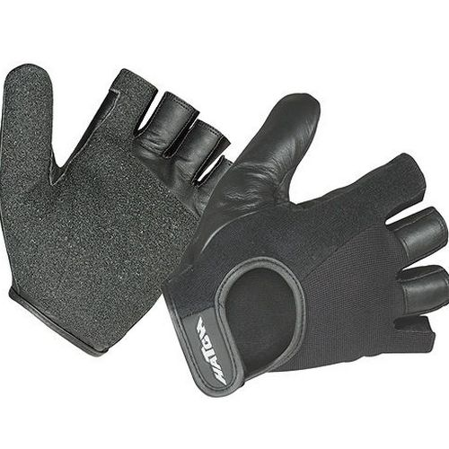 Padded Leather Wheelchair Gloves: Hatch Para Push