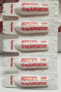 Magic Bullet Suppository Close Up Package