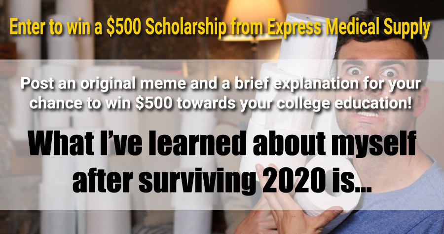 Enter to win a $500 scholarship!