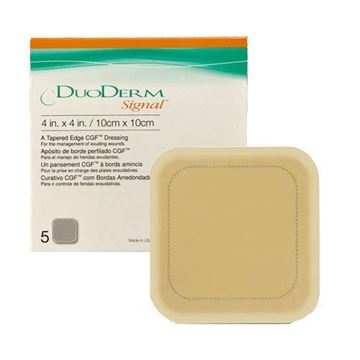 Picture of DuoDerm Signal - Square Hydrocolloid Dressing with Border