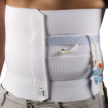 """Picture of Dale - 12"""" 4 Panel Abdominal Binder/Support"""