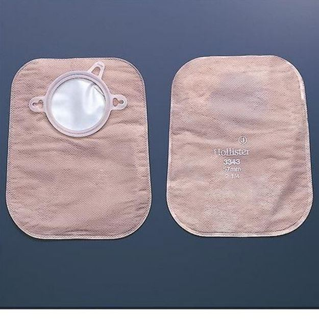 """Picture of Hollister CenterPointLock - 9"""" 2-Piece Closed Ostomy Bag with Filter"""