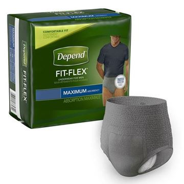 Picture of Depend Fit Flex - Men's Adult Pull Ups