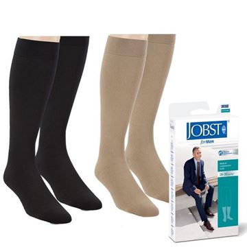 Picture of Jobst forMen - Men's 20-30mmHg Compression Support Socks