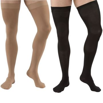 Picture of Jobst Relief - Thigh High 20-30mmHg Compression Support Stockings