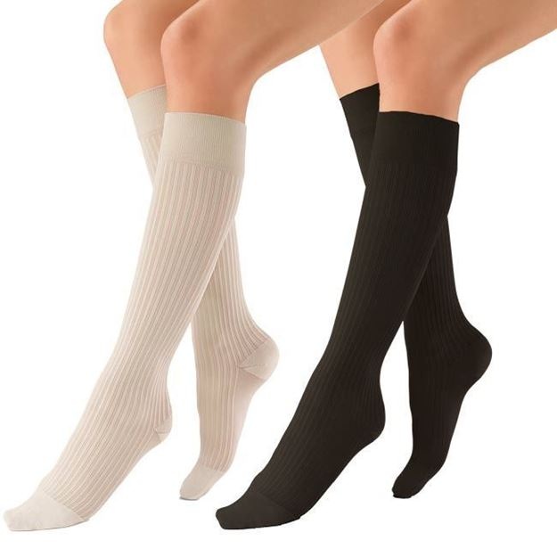 Picture of Jobst Women's SoSoft - Women's 8-15mmHg Compression Support Socks