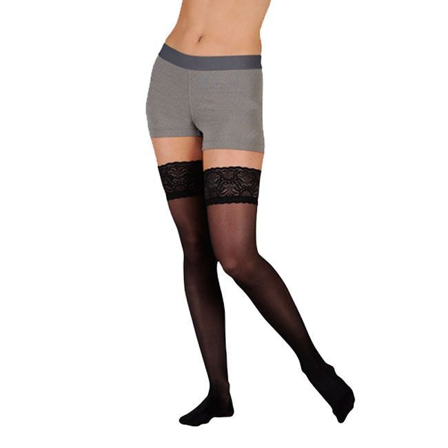 Picture of XXL Thigh High Black