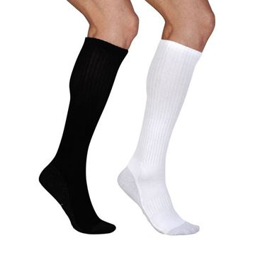 Picture of Juzo OTC Silver Sole - Knee High 12-16mmHg Compression Support Socks