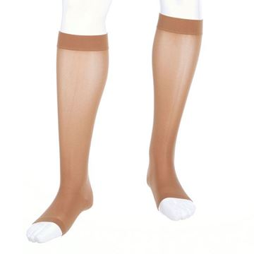 Picture of Mediven Assure - Petite Knee High 20-30mmHg Compression Stocking (Silicone Band/Regular Calf/Open Toe)