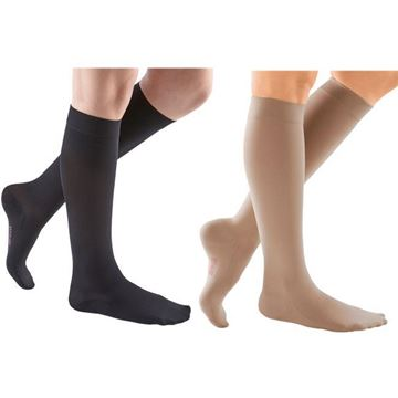 Picture of Mediven Comfort Series - Women's Knee High 20-30mmHg Compression Support Stockings