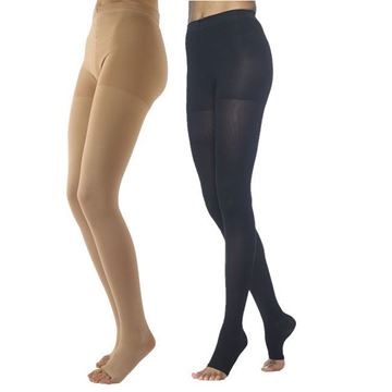 Picture of Sigvaris Dynaven Medical Legwear - Women's 20-30mmHg Compression Pantyhose (Open Toe)