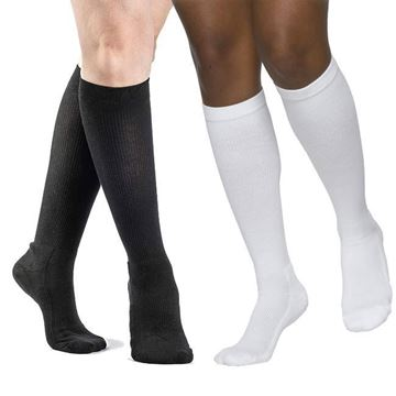 Picture of Sigvaris Cushioned Cotton - Women's Calf 20-30mmHg Compression Support Socks