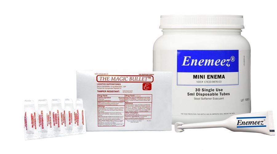 Picture for category Suppositories & Enemas