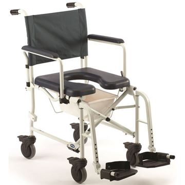 """Picture of Invacare Mariner Rehab - Shower Commode Chair with 5"""" Casters"""