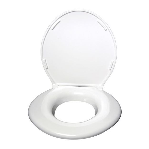 Picture of Big John - Heavy Duty Toilet Seat with ABS Hinges