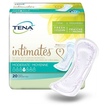 "Picture of TENA Intimates Pads Moderate Regular - 11"" Incontinence Pads"