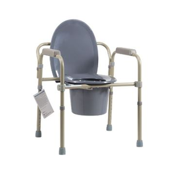 Picture of Dynarex - Folding Bedside Commode