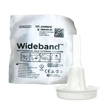 Picture of Bard Wide Band - Self Adhering Condom Catheter