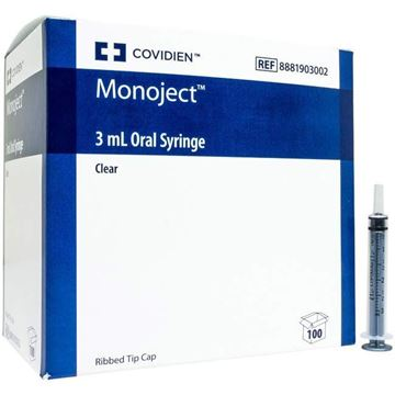 Picture of Covidien Monoject - 3 mL Oral Syringe
