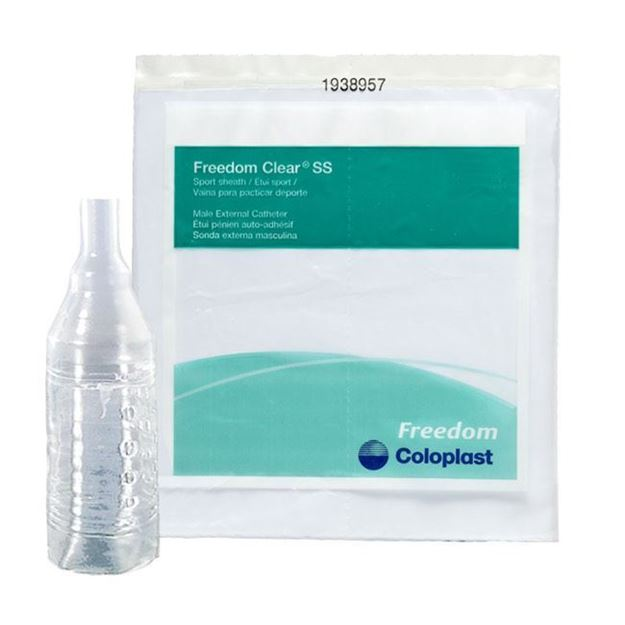 Picture of Coloplast Freedom Clear - Sport Sheath Condom Catheter