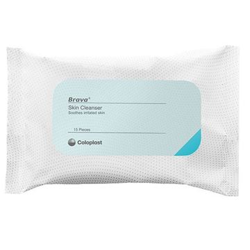 Picture of Coloplast Brava - Skin Cleanser Wipes