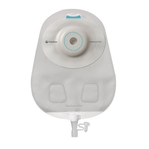 Picture of Coloplast SenSura Mio - 1-Piece Convex Light Urostomy Bag (Cut to Fit-Maxi)