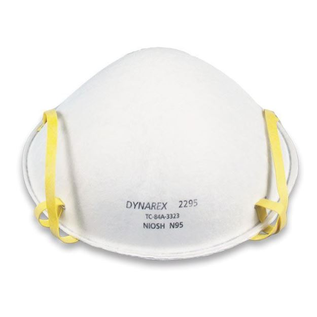 Picture of Dynarex  - N95 Particulate Respirator Mask/Surgical Face Mask
