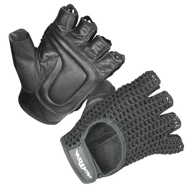 Picture of Hatch - Padded Leather Wheelchair Gloves