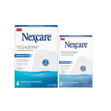 Picture of 3M Nexcare - Tegaderm Waterproof Transparent Dressing
